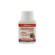Panthenol 40 mg Forte + selen + vitamín C, E 30 tob. + 7 tob. ZDARMA