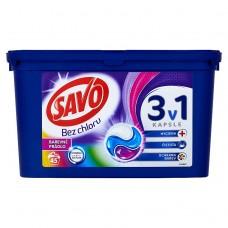 Savo Color trio gelové kapsle, 45 praní