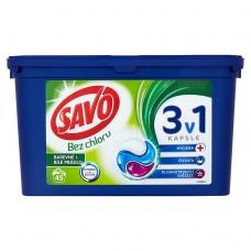 Savo Universal trio gelové kapsle, 45 praní