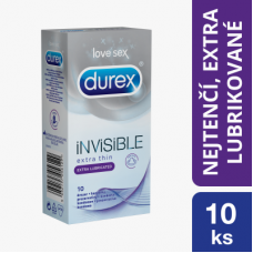 Durex Invisible Extra Lubricated