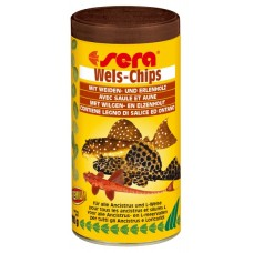 Sera speciální krmivo pro krunýřovité sumečky Wels-Chips 250ml