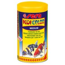 Sera doplňkové krmivo pro Koi - podpora vybarvení ryb Koi Color Medium 1000ml