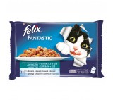Felix Fantastic multipack s lososem a platýsem v želé (4ks) 4x100g