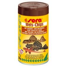 Sera speciální krmivo pro krunýřovité sumečky Wels-Chips 100ml