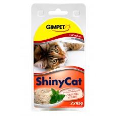 ShinyCat konzerva kuřecí 2x70g
