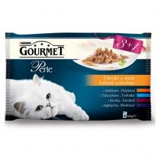 Kap.Gourmet Perle mini filetky ve stave 3+1 85g