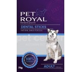 Pet Royal Dog Dental sticks zeleno-cervena 75g