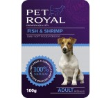 Kap.Pet Royal Dog ryba+krevety 100g