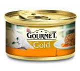 Konzerva GOURMET Gold Sav.Cake kuřecí a mrkev 85g