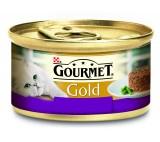 Konzerva GOURMET Gold Sav.Cake jehněčí a faozlky 85g