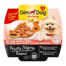 Gimdog Fruity menu Ragout losos s papajou a zeleninou 100 g