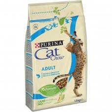 Cat Chow Adult tuňák+losos 1,5kg