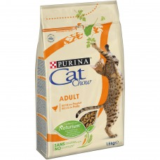 Cat Chow Adult kuře+krůta 1,5kg