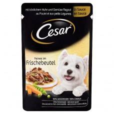 kapsička CESAR kuřecí se zeleninou 100g