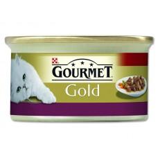 Gourmet Konz.Gourmet Gold kure+losos 85g