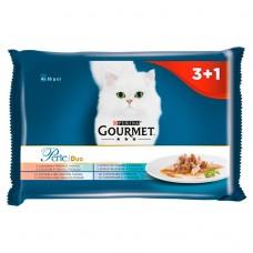 Kap.Gourmet Perle Duo Multipack Rybi Duo 3+1 zdarma