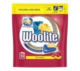 Woolite Keratin gelové kapsle XL na barevné prádlo, 35 praní