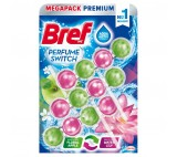 Bref Perfume Switch Floral Apple / Water Lily pevný wc blok