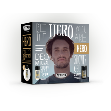 STR8 HERO deo natural sprej + sprchový gel
