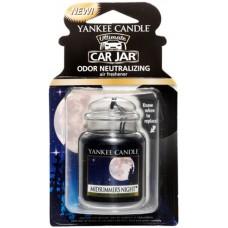 Yankee Candle Car Jar luxusní visačka Midsummer's Night