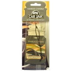Yankee Candle Car Jar New Car papírová visačka do auta