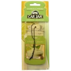 Yankee Candle Car Jar Vanilla Lime papírová visačka do auta