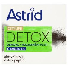 ASTRID CITYLIFE Detox obnovující rozjasňující noční krém
