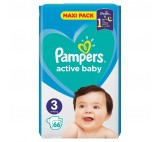 Pampers Active Baby Maxi Pack S3