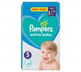 Pampers Active Baby Maxi Pack S5
