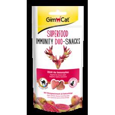GIMCAT DUO-SNACKS Immunity divocina+opuncie 40g