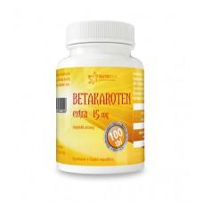Betakaroten EXTRA 15 mg 100 tbl.