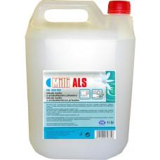 MILLI ALS aktivní tekuté mýdlo na hygienicky čisté ruce, čiré, bez parfemace
