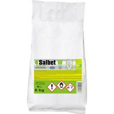 SALBET W pomocná prací přísada pro bělení prádla