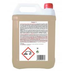 TORSAN - A tekutý, alkalický, čistící prostředek,odmašťuje, pro pěnové, tlakové i ruční mytí