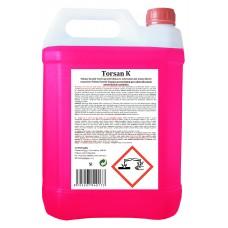 TORSAN - K tekutý, kyselý čistící prostředek, pro odstranění minerálních usazenin, vodního kamene, rzi