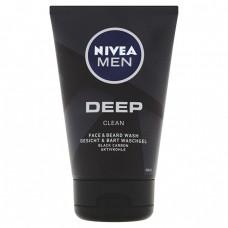 Nivea Men Deep Clean mycí gel na obličej a vousy
