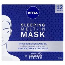 Nivea Noční maska s kyselinou hyaluronovou Hyaluron Cellular Filler