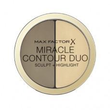 Krémový bronzer a rozjasňovač Miracle Contour Duo (Sculpt + Highlight) 8 g