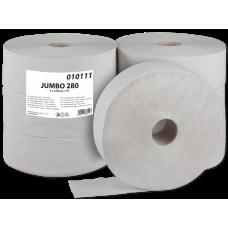Toaletní papír Jumbo 280 1-vrstvý šedý