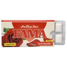 ELMA Rose Chewing Gum 10 ks