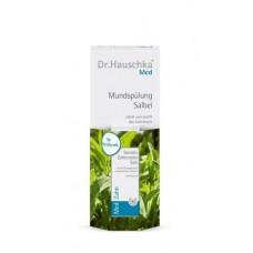 Dr. Hauschka Sada šalvějová ústní voda (Mouth Wash) 300 ml + Miniatura mátová zubní pasta (Mint Forte Toothpaste) 8 ml
