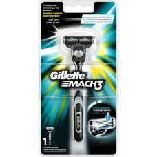 Gillette Mach3 holicí strojek + 1 hlavice