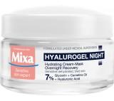 Mixa Noční krém pro citlivou pleť se sklonem k vysušení Hyalurogel