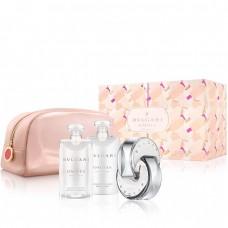 Bvlgari Omnia Crystalline - EDT 65 ml + sprchový gel 75 ml + tělové mléko 75 ml + kosmetická taštička