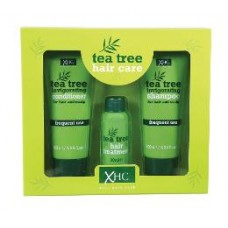 Tea Tree dárková sada šampon 100ml + kondicionér 100ml + vlasové sérum 30ml