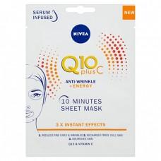 Nivea textilní 10 minutová maska Q10 Plus C