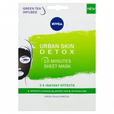 Nivea detoxikační textilní 10 minutová maska Urban Skin