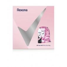 Rexona Kosmetická sada pro ženy s taškou Shiny Gymbag