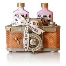 Lady Cotton Sada tělové kosmetiky Strawberry Camera
