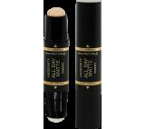 Max Factor Zmatňující báze a make-up v tyčince 2v1 Facefinity 42 Ivory